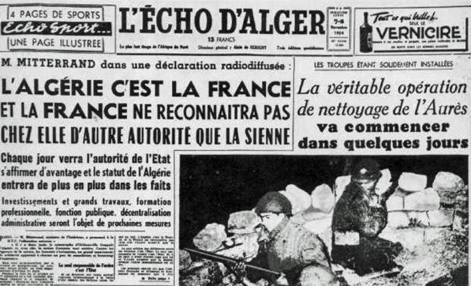 echo d_alger_nov_1954